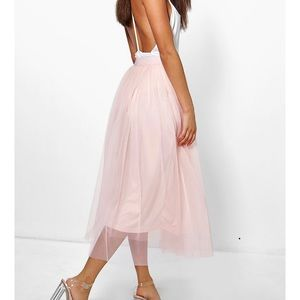 Pink Tulle Skirt- Size 6
